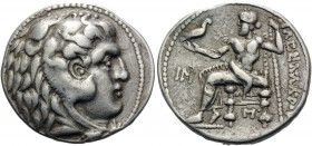 CELTIC, Eastern Europe. Imitating Alexander III 'the Great', 336-323 BC. Tetradrachm (Silver, 28 mm, 14.04 g, 11 h), Eastern Europe imitation, c. 250 ...