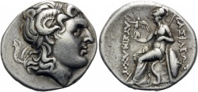 KINGS OF THRACE. Lysimachos, 305-281 BC. Tetradrachm (Silver, 28 mm, 16.91 g, 12 h), Heraclea Pontica, c. 288/7-282/1. Diademed head of Alexander the ...