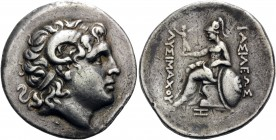 KINGS OF THRACE. Lysimachos, 305-281 BC. Tetradrachm (Silver, 31 mm, 16.89 g, 1 h), struck posthumously, at an uncertain mint, possibly in mainland Gr...