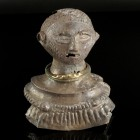 "Large Roman Silver Portrait Bust ""Tetrach-Bust""