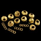 Ancient Gold Beads