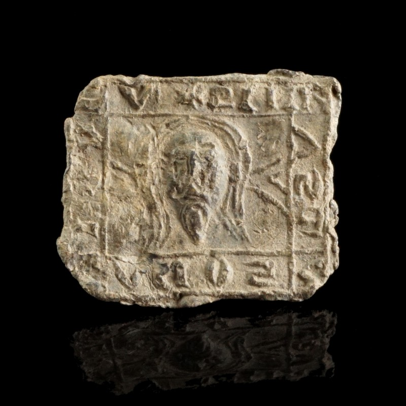 Byzantine Lead Plaque