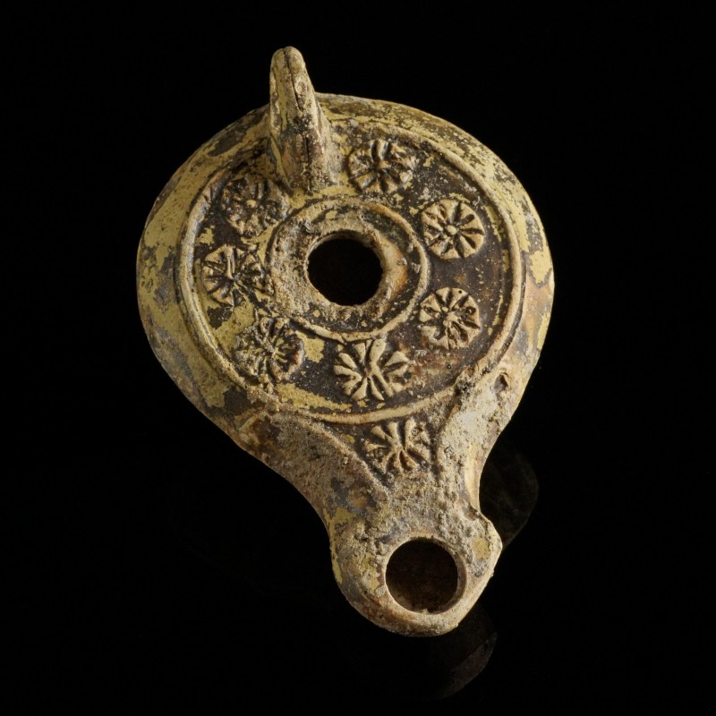 Roman Oil Lamp