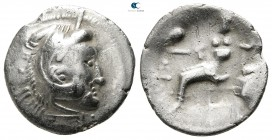 Eastern Europe. Imitations of Alexander III of Macedon  200-100 BC. Drachm AR