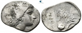 Lucania. Metapontion circa 330-290 BC. Stater AR