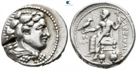 Kings of Macedon. Tyre. Philip III Arrhidaeus 323-317 BC. In the name and types of Alexander III. Struck under Laomedon. Tetradrachm AR