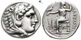"Kings of Macedon.  Amphipolis. Alexander III ""the Great"" 336-323 BC. In the name and types of Alexander III. Struck circa 316-311 BC. Tetradrachm AR"