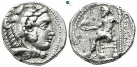 "Kings of Macedon. Tyre. Alexander III ""the Great"" 336-323 BC. Uncertain date. Tetradrachm AR"