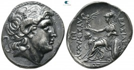 Kings of Thrace. Uncertain mint or Lysimacheia. Macedonian. Lysimachos 305-281 BC. Tetradrachm AR