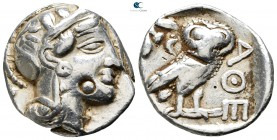 Attica. Athens circa 359-336 BC. Time of Philip II of Macedon. Tetradrachm AR