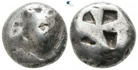 Islands off Attica. Aegina 500-480 BC. Stater AR