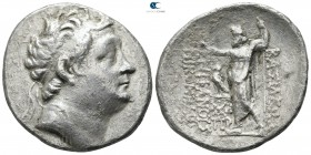 Kings of Bithynia. Nikomedes III Euergetes 127-94 BC. Dated 180 BE=118/7 BC. Tetradrachm AR