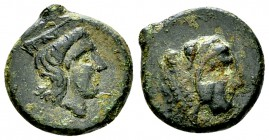 Thermae Himerenses AE15, c. 407/406 BC 