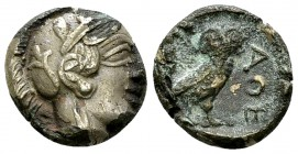 Athens fourrée Drachm, c. 454-404 BC 