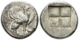 Teos AR Stater, c. 450-425 BC 