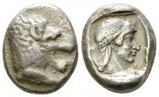 Knidos AR Drachm, c. 475-460 BC 