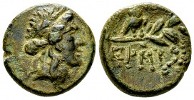 Myndos AE18, 2nd/1st century BC, rare 