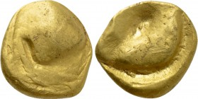"CENTRAL EUROPE. Bohemia, Moravia & Southwest Slovakia. GOLD Stater (2nd-1st centuries BC). ""Mušlový"" type."
