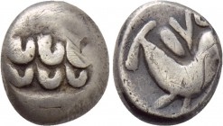 "CENTRAL EUROPE. Northern Hungary & Southern Slovakia. Drachm (2nd-1st centuries BC). ""Karancs"" type."