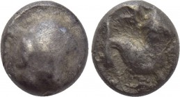 "CENTRAL EUROPE. Northern Hungary & Southern Slovakia. Hemiobol (2nd-1st centuries BC). ""Karancs"" type."