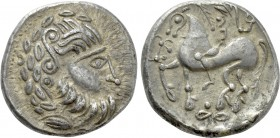 "EASTERN EUROPE. Imitations of Philip II of Macedon. Tetradrachm (3rd-2nd centuries BC). ""Mit liegendem Achter"" type."