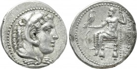 KINGS OF MACEDON. Alexander III 'the Great' (336-323 BC). Tetradrachm. Salamis. Lifetime issue.