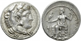 KINGS OF MACEDON. Alexander III 'the Great' (336-323 BC). Tetradrachm. Myriandros or Issos. Lifetime issue.