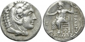 KINGS OF MACEDON. Alexander III 'the Great' (336-323 BC). Hemidrachm. Arados. Possible lifetime issue.