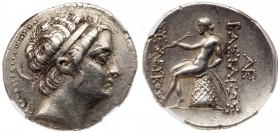 Seleukid Kingdom. Seleukos III Soter. Silver Tetradrachm (16.77 g), 226-223 BC. Uncertain mint in northern Syria or Mesopotamia. Diademed head of Sele...