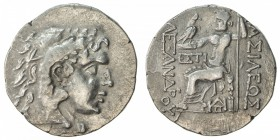 THRACIAN CITIES: ODESSOS: late series, ca. 125-70 BC, AR tetradrachm (16.08g), in the name of Alexander III of Macedonia: head of Herakles right, wear...