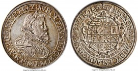Rudolf II 2 Taler 1604 MS62 NGC, Hall mint, KM57.2, Dav-3004. 56.68gm. A lightly toned and gently shimmering example, well-struck with a nearly full e...