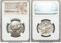 MACEDONIAN KINGDOM. Antigonus III Doson (229-221 BC). AR tetradrachm (31mm, 17.06 gm, 11h). NGC XF 5/5 - 4/5.  Amphipolis, ca. 227-225 BC. Head of Pos...