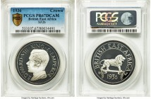 British Colony. Edward VIII silver Proof Fantasy Crown 1936-Dated (1972) PR67 Deep Cameo PCGS, KM-X2b. Mintage: 500.   HID99912102018