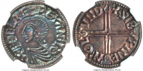 Kings of All England. Aethelred II (978-1016) Penny ND (c. 997-1003) MS62 NGC, London mint, Sibwine as moneyer, Long-Cross type, 1.77gm, S-1151, N-774...