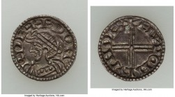 Kings of All England. Edward the Confessor (1042-1066) Penny ND (1048-1050) Choice AU (flan cracks), London mint, Aelfw... as moneyer, Small Flan type...