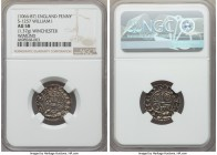 William I the Conqueror (1066-1087) Penny ND (c. 1083-1086) AU58 NGC, Winchester mint, Wimund as moneyer, Paxs type, 1.37gm, S-1257, N-848. +ǷILLELM R...