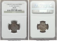 William I the Conqueror (1066-1087) Penny ND (c. 1080-1083) AU55 NGC, Winchester mint, Leofwold as moneyer, Paxs Type, S-1257, N-848. +ǷILLELM REX, cr...
