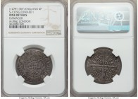 Edward I (1272-1307) Groat (4 Pence) ND (1279-1307) Fine Details (Damaged) NGC, London mint, Variety F, 4.99gm, S-1379F, N-1006 (VR), Fox-2. Variety w...