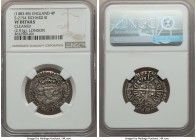 Richard III (1483-1485) Groat (4 Pence) ND VF Details (Cleaned) NGC, London mint, Sun & Rose mm (SR1), 2.91gm, S-2154, N-1680. An extremely desirable ...
