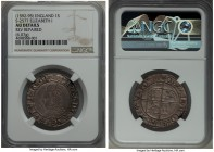 Elizabeth I (1558-1603) Shilling ND (1592-1595) AU Details (Reverse Repaired) NGC, Tower mint, Tun mm, Sixth Issue, Bust 6B, 6.07gm, S-2577. Exception...