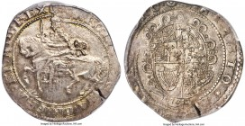 Charles I 1/2 Crown ND (1643-1646) AU55 PCGS, Exeter mint, Rose mm, S-3065. A comparatively magnificent example of this scarce Civil War issue, finer ...