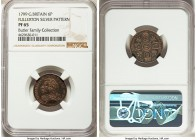 "George III silver Proof Pattern ""Fullerton"" 6 Pence 1799 PR65 NGC, Ayrshire mint, Stainton 31c, Forrer II, P. 170. Fullerton issue. Issued for George,..."
