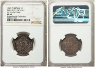 George III silver Proof Pattern Shilling 1787 PR62 NGC, KM-Unl., ESC-2171 (R5; prev. 1241). Plain edge. By L. Pingo. Mintage: 7. An incredibly rare pa...