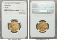 Holland. Provincial gold Ducat 1776 AU58 NGC, KM12.3. An appealing circulated specimen showing generally strong detail and minimal wear.  HID999121020...