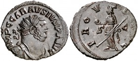 (291-293 d.C.). Carausio. Antoniniano. (Spink 13680) (Co. 262) (RIC. 353). 4 g. EBC-.