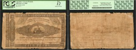 Casa de Moneda. Rosas Rarity. 100 Pesos, 1948. P-S398 & S398s. Issued & Specimen. PCGS About New 50 & Fine 12.