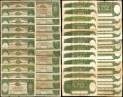 AUSTRALIA. Commonwealth Bank of Australia. 1 Pound, (1938-52). P-26a & 26b. Very Fine.