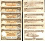 AUSTRALIA. Commonwealth Bank of Australia. 10 Shillings, (1954-60). P-29. Very Fine.