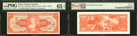 BRAZIL. Mixed Banks. 200, 500, & 1,000 Cruzeiros, ND (1963). P-171c, 181, & 186a. Mixed Grades.