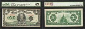 CANADA. Dominion of Canada. 1 Dollar, 1923. DC-25o. PMG Choice Uncirculated 63.
